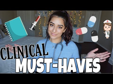 What's in my Clinical Bag? | Nursing Student Essentials!