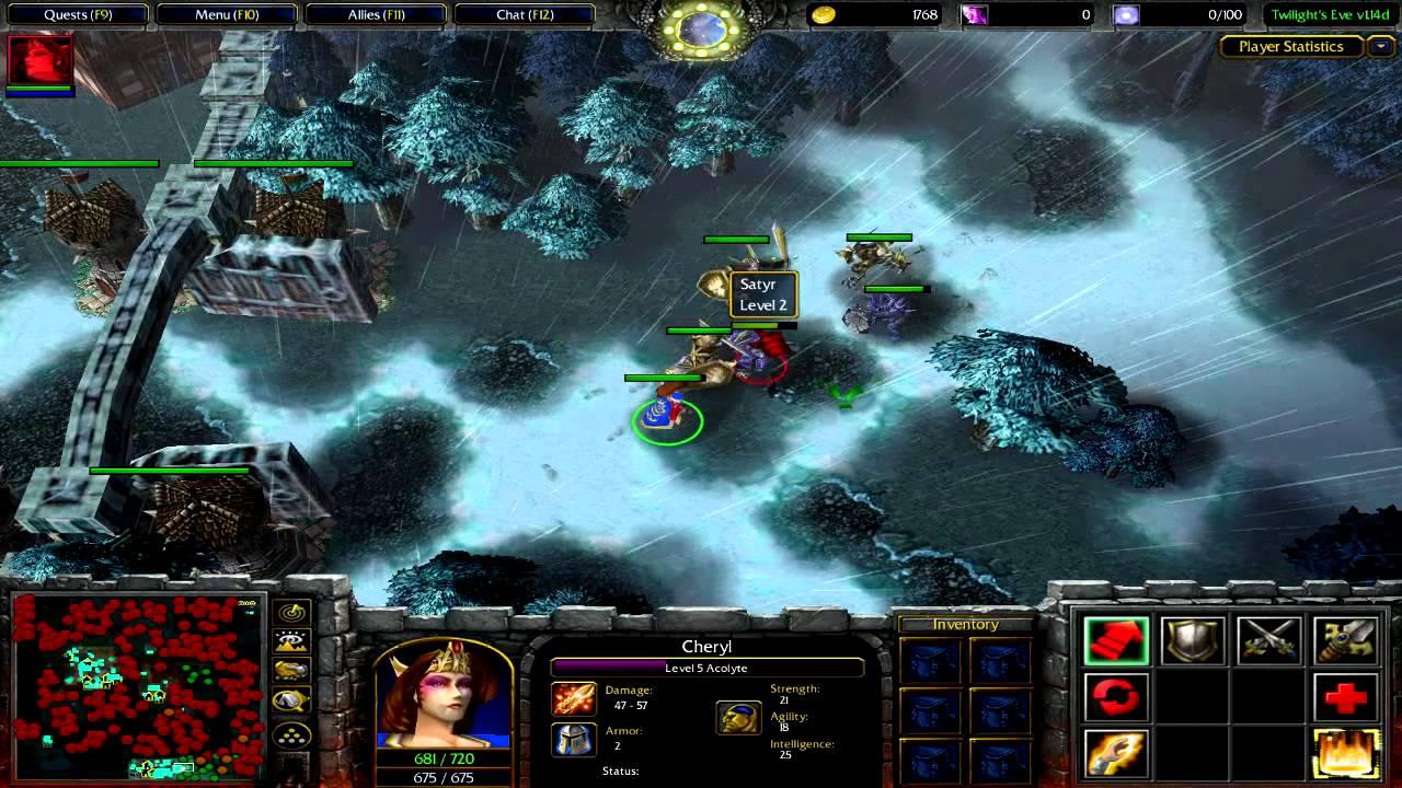 Warcraft 3 - Twilight's Eve ORPG v1 14d