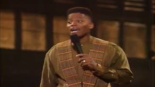 Def Comedy Jam - D. L.  Hughley - Show 1:  Girl put your panties on, it's Jesus at the door.