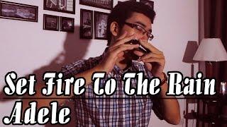 Set Fire To The Rain - Adele - Harmonica Cover