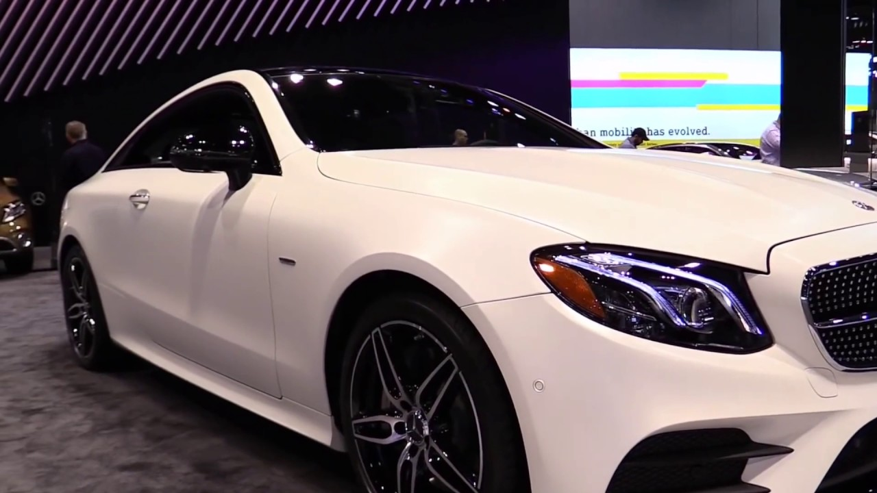 2018 Mercedes E400 Coupe Pearl White Luxury Features