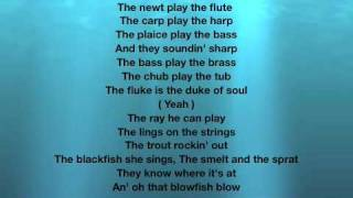 Repeat youtube video Under the Sea Lyrics