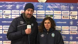 Brescia CF-VeronaWomen interviste dopogara 27-01-2018