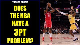 Chris Broussard & Rob Parker: Does the NBA have a 3pt Epidemic?