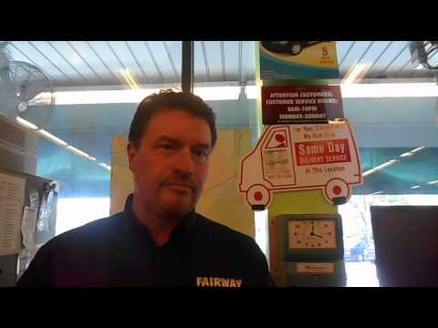 Stephen Fosdick from Fairway Market