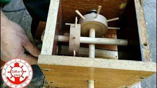 Демонстрационный поворотный столик из дерева своими руками. Часть 2