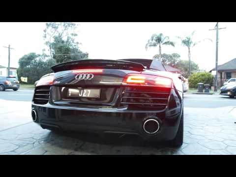 audi spoiler exhaust gt en wing carbon fibre mode