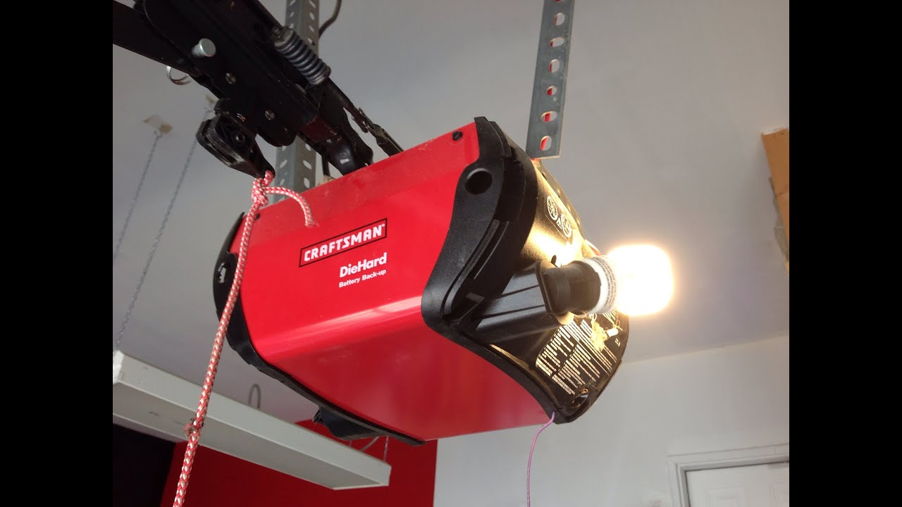 How To Adjust Garage Door Opener Height Craftsman Dandk