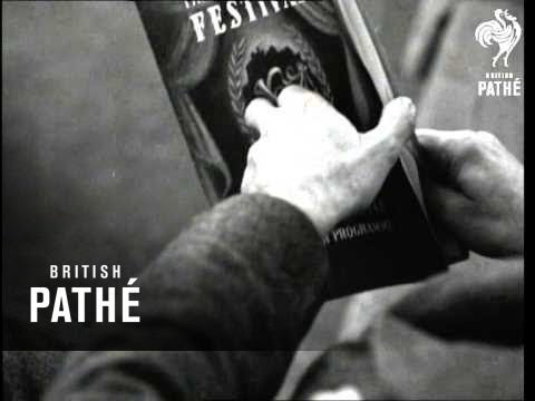 Council Of Europe Film - Edinburgh Festival (1948)