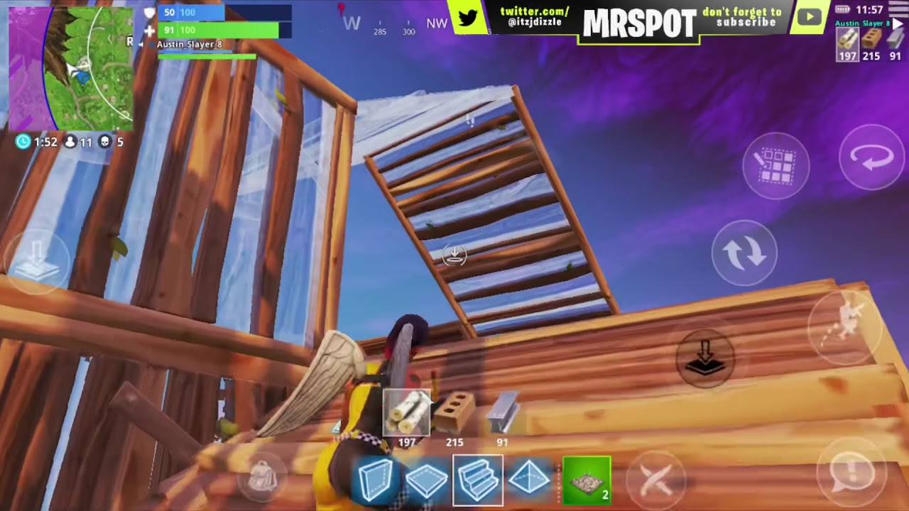 dominating on duo vs squad fastest builder on fortnite mobile best builder on mobiles - best builder on fortnite mobile