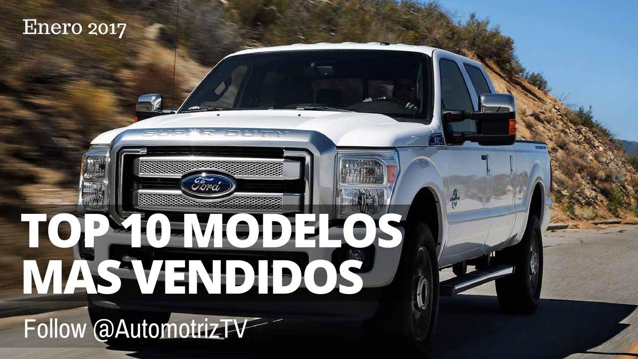 Top 10 Autos Mas Vendidos En Estados Unidos Enero 2017 Youtube