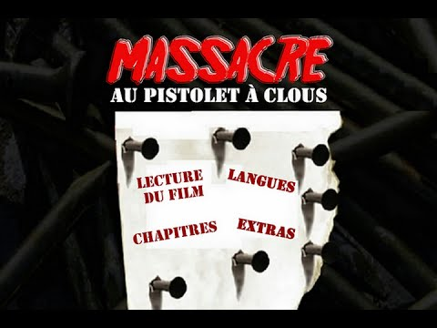 massacre au pistolet clous 1985 intro menu dvd. Black Bedroom Furniture Sets. Home Design Ideas