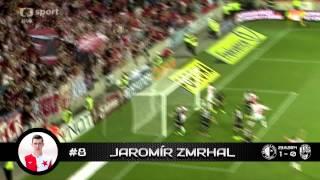 Slavia Praha - góly (podzim 2014)