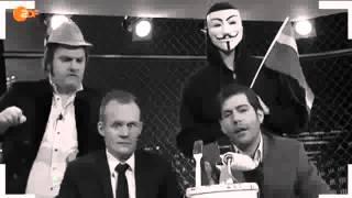 claus von wagner  2015 | Die Anstalt, , Mit Max Uthoff Und Claus Von Wagner, Simone Solga