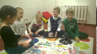 Урок английского языка детей 6-7-8 лет.