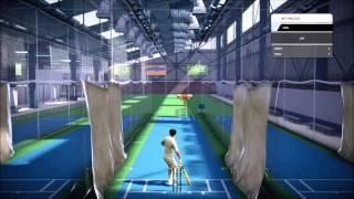 Don Bradman Cricket 14 net practice gameplay