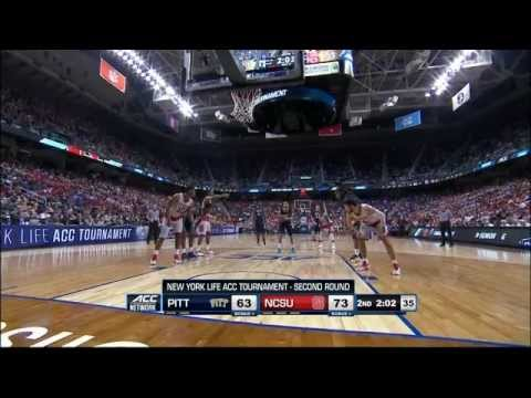 2015.03.11 Pittsburgh Panthers vs NC State Wolfpack Basketball (ACCT)