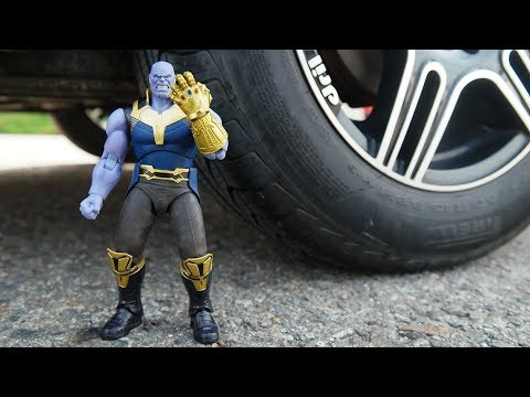CAR VS THANOS INFINITY WAR