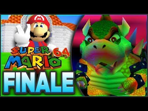 FINAL BOSS BOWSER! | Super Mario 64 - 100% Walkthrough [FINALE Episode 10 🔴LIVE]