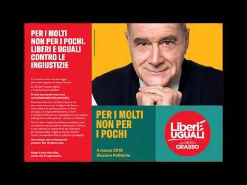 Pietro Grasso e collaboratori di Liberi&Uguali a Mestre Laguna Palace hotel 16  02 '18