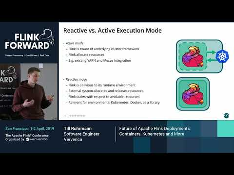 Future of Apache Flink Deployments: Containers, Kubernetes and More - Till Rohrmann