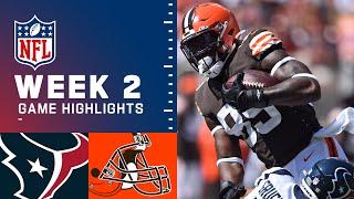 Texans vs. Browns Week 2 Highlights   NFL 2021
