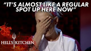 Denine Gets Eliminated From Hell S Kitchen Youtube