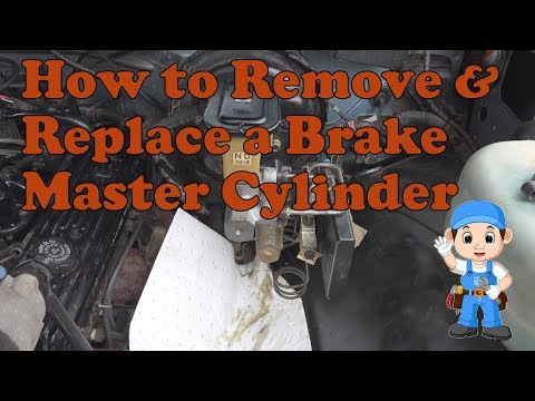 How to install a brake master cylinder on a 1988-1998 Chevy K1500 Silverado