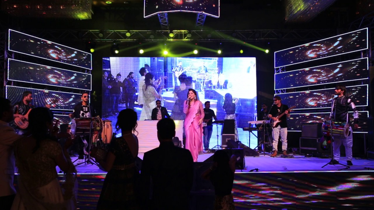 Kanika kapoor   Wedding show   Private show - YouTube