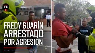 Fredy Guarín fue arrestado en la casa de sus padres por maltrato intrafamiliar - El Espectador
