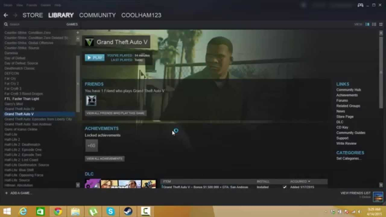 How to fix GTA V (PC) not launching  (Steam)