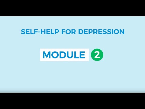 Self-help for depression 2: Behavioural Activation