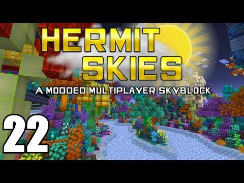 Hermit Skies 22 | Skating on Ice! | Modded Minecraft Project Ozone Lite