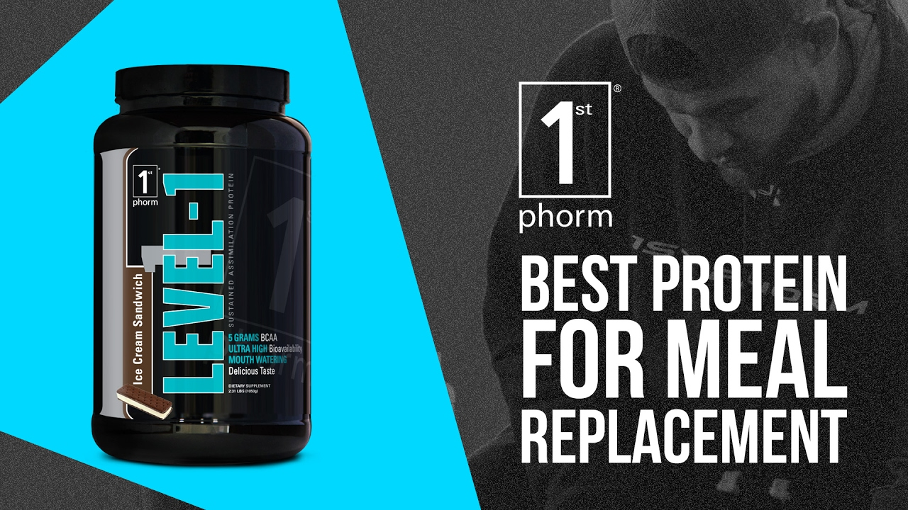 Level-1 - Meal Replacement Proteins - Protein Powder & Bars