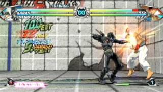 Tatsunoko vs. Capcom: Ultimate All-Stars Combo Video 1