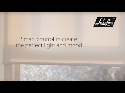 Roller Blinds with PowerView® Motorisation from Luxaflex®