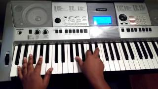How to play I Need You by Donnie McClurkin on piano