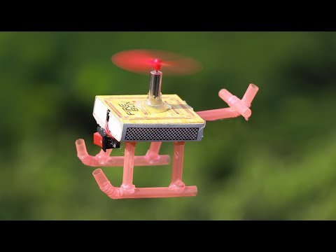 How To Make Helicopter with Matchbox | Diy Helicopter at Home | Helicopter Toy Diy