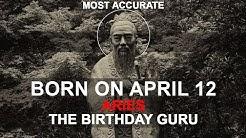 Born On April 12 | Birthday | #aboutyourbirthday | Sample