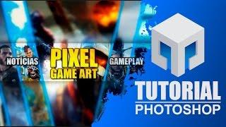 Como criar um banner/capa para youtube | Tutorial de Photoshop