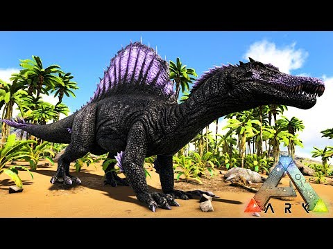 Ark survival evolved taming a spino youtube for Plante y ark ragnarok