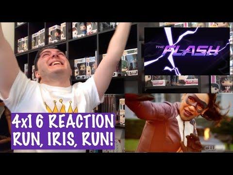 THE FLASH - 4x16 'RUN, IRIS, RUN' REACTION