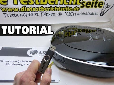 Anleitung: LG Hom Bot Square Firmware Update / how to [deutsch]