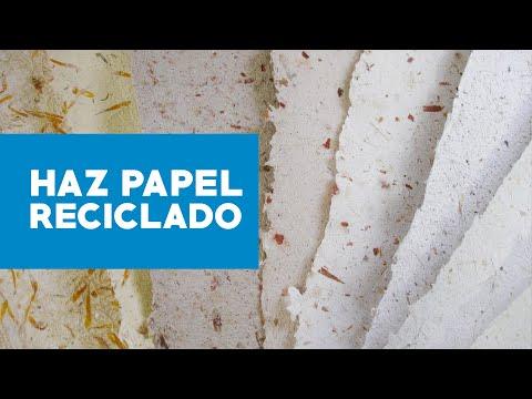 C mo hacer papel reciclado youtube for Ceramica artesanal como se hace