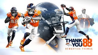 Thank you, D.T. | A Tribute to Demaryius Thomas