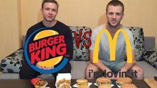 Сравнение МакДональдс и Бургер Кинг (bkdostavka.by). Минск.  [Доставлено]