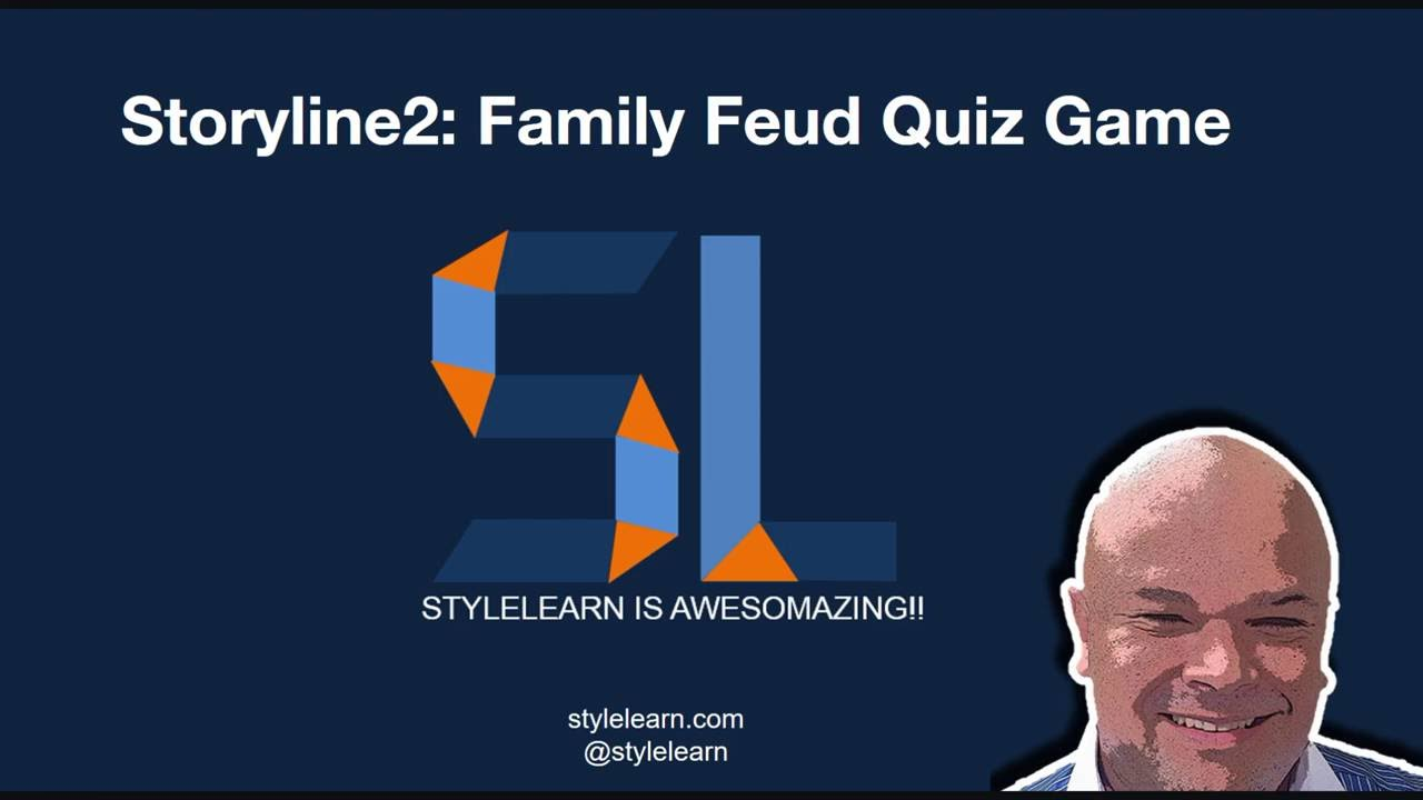 New Version of Family Feud game on Storyline2 - Articulate