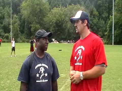 Keith Brooking Interview at Atlanta O-D 2009