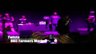 Twista @ Farmers Market in OKC - Rain on Me