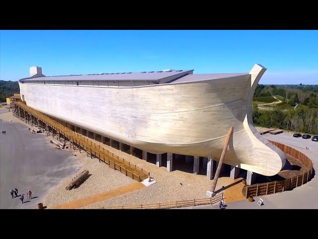 Full-Size Noah's Ark in Kentucky! MIND-BLOWING!!!